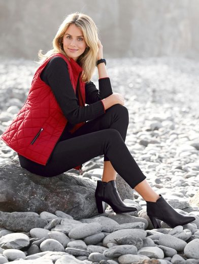 Mona Quilted Vest Quilted Warming