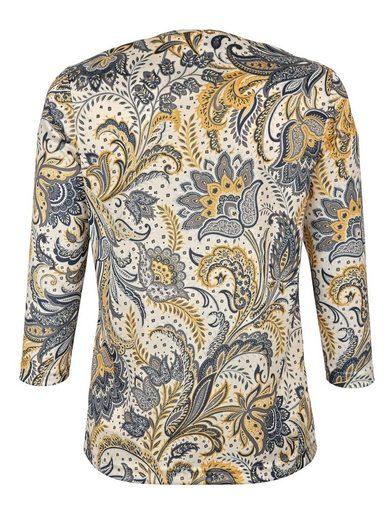 Paola Shirt mit Paisleydruck