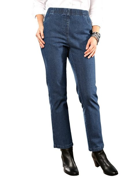 paola -  Jeans in bequemer Schlupfform
