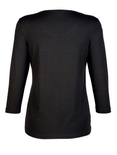 Laura Kent Shirt Pailettenschleife