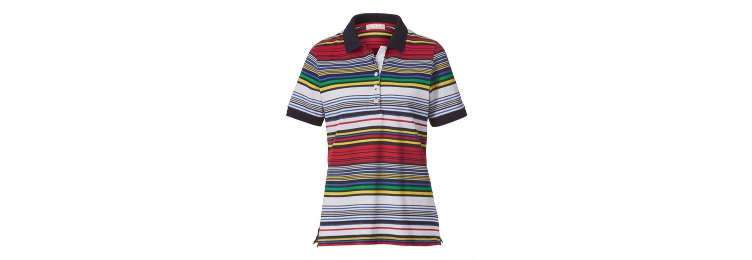 Auslass Verkauf Mona Poloshirt mit Ringeldessin Mode-Stil Günstig Online Original Liefern Billige Online KRbJYi1z