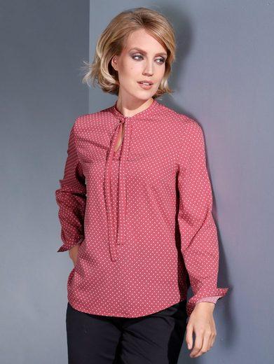 Dress In Bluse mit Minimal-Dessin