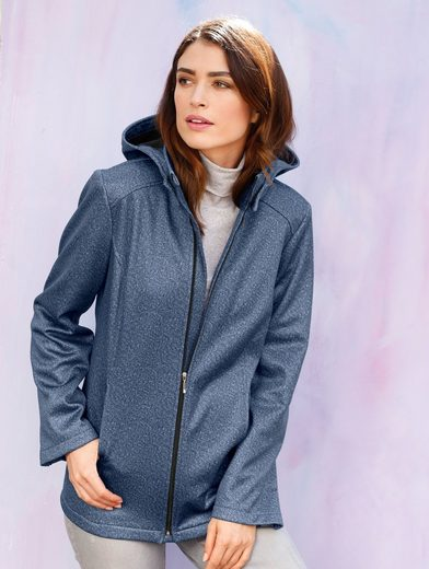 Dress In Softshelljacke in melange Qualität