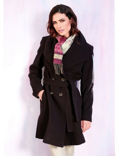 Wool-cashmere Short Coat With Paola