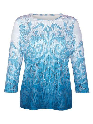 Paola Shirt mit Druckmuster