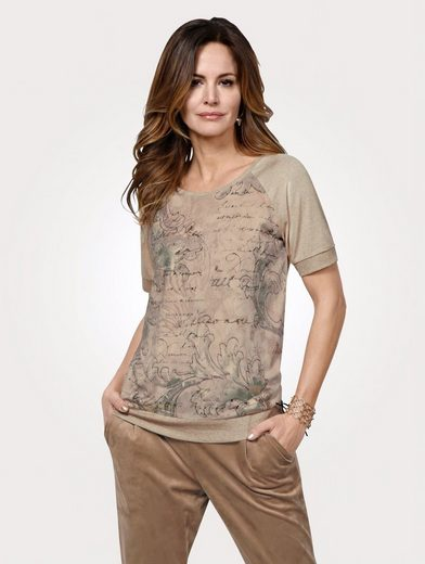 Mona Shirt mit Strickbündchen am Saum