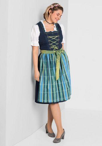 Damen sheego Style Dirndl blau | 04054697922189