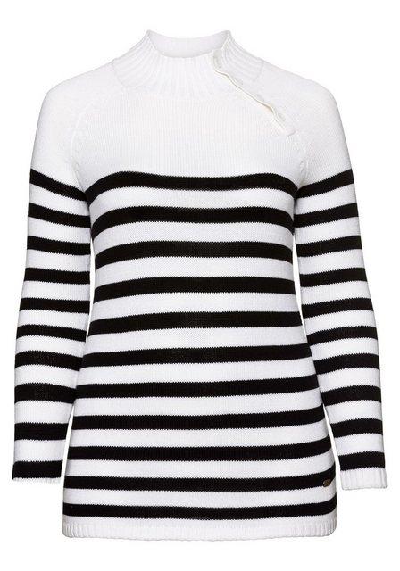 Sheego Stehkragenpullover | Bekleidung > Pullover > Stehkragenpullover | Sheego