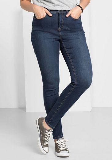 sheego Denim Stretch-Jeans, Superelastische Stretch-Qualität