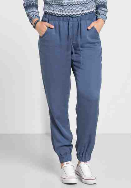 sheego Casual Schlupfhose, in Lyocell-Qualität