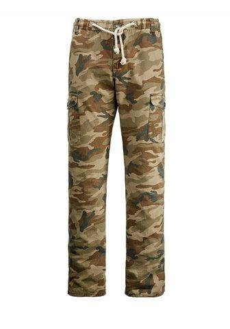 MEN PLUS BY HAPPY SIZE Kišeninės kelnės kareiviško stiliaus