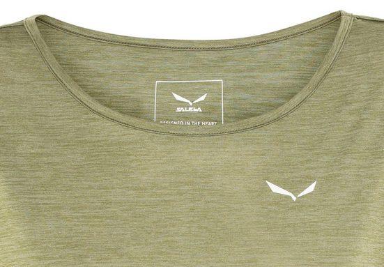 Salewa T-Shirt Puez Melange Dry S/S Tee Women