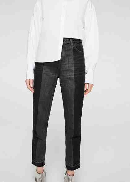 MANGO Relaxed Jeans Mom