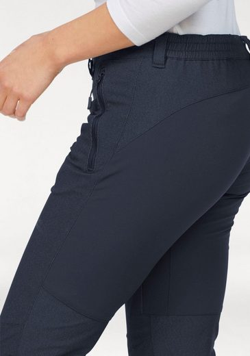 Jack Wolfskin Functional Pants Activate Sky Women, - Wind And Water Resistant