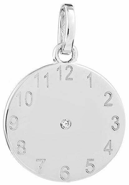 XENOX Kettenanhänger »Zifferblatt Uhr, XS3483«