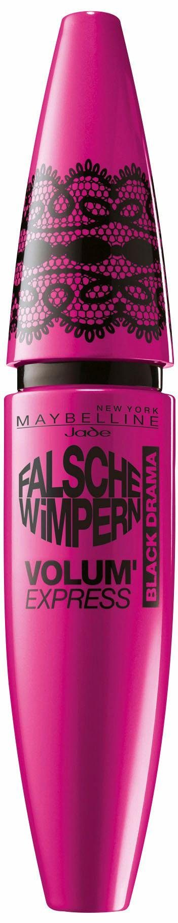 Maybelline New York, »Volum' Express Falsche Wimpern Black Drama«, Mascara