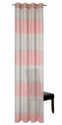 Vorhang »Kanjo«, DEKO TRENDS, Ösen (1 Stück)