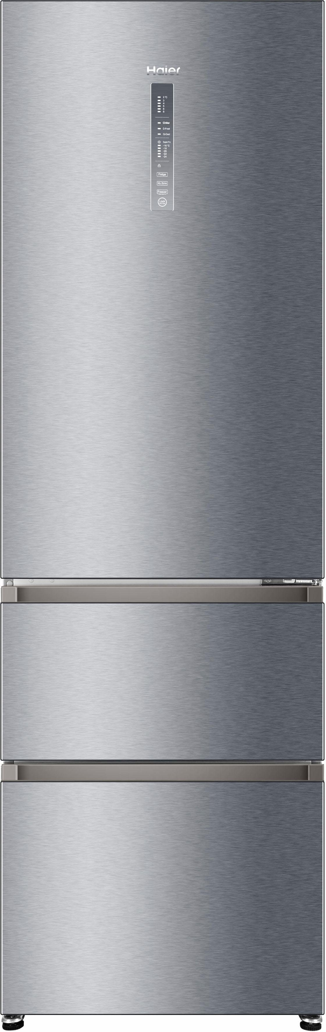 Haier Kühl-/Gefrierkombination A3FE735CGJE, 190 cm hoch, 60 cm breit