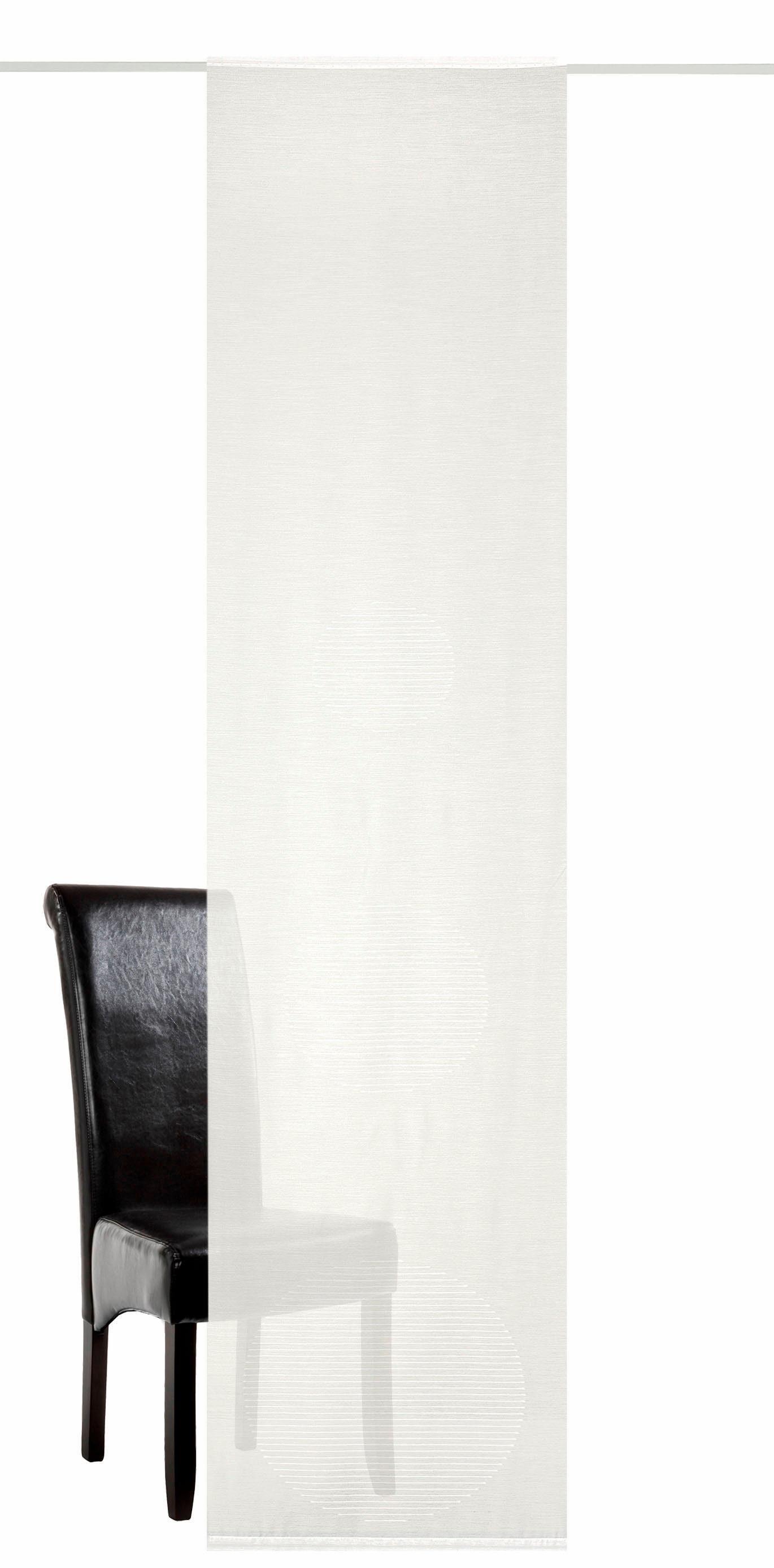 Schiebegardine »Icon«, DEKO TRENDS, Klettband (1 Stück), inkl. Befestigungszubehör