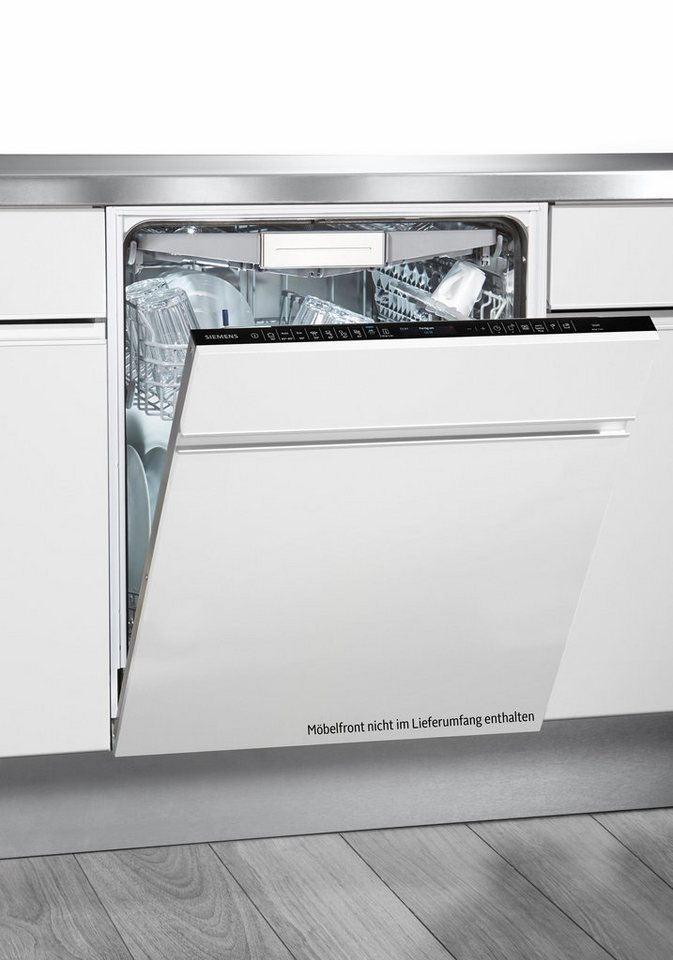 SIEMENS Vollintegrierbarer Einbaugeschirrspüler SN758X06TE  ~ Geschirrspülmaschine Zeolith