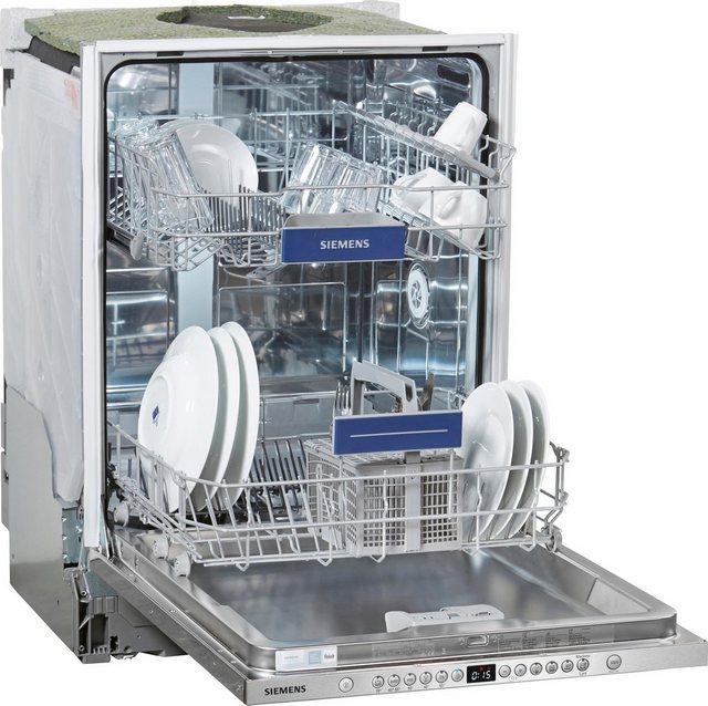Küchengroßgeräte - SIEMENS integrierbarer Geschirrspüler iQ300, SX636X01GE, 9,5 l, 12 Maßgedecke  - Onlineshop OTTO