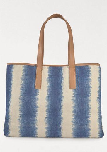 Liebeskind Strandtasche, im coolem Batikdesign