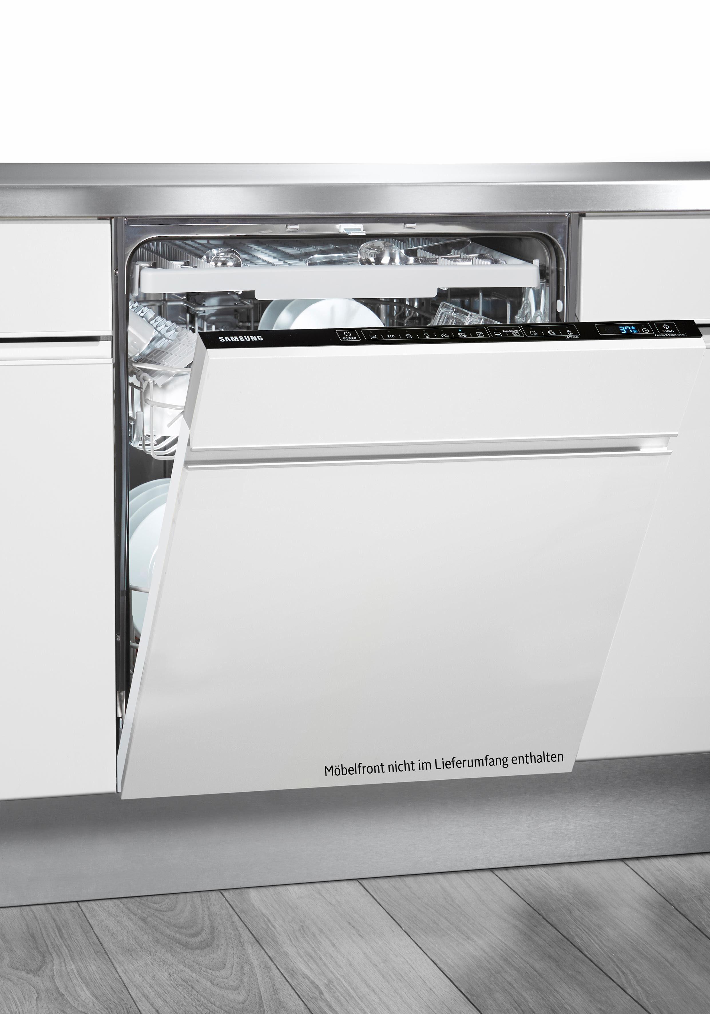 Samsung vollintegrierbarer Geschirrspüler, DW60M9550BB/EG, 9,7 l, 14 Maßgedecke