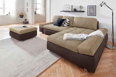 Situ0026more Polsterecke »Fabona«, Wahlweise Mit Bettfunktion, Bettkasten Und  Armteilfunktion