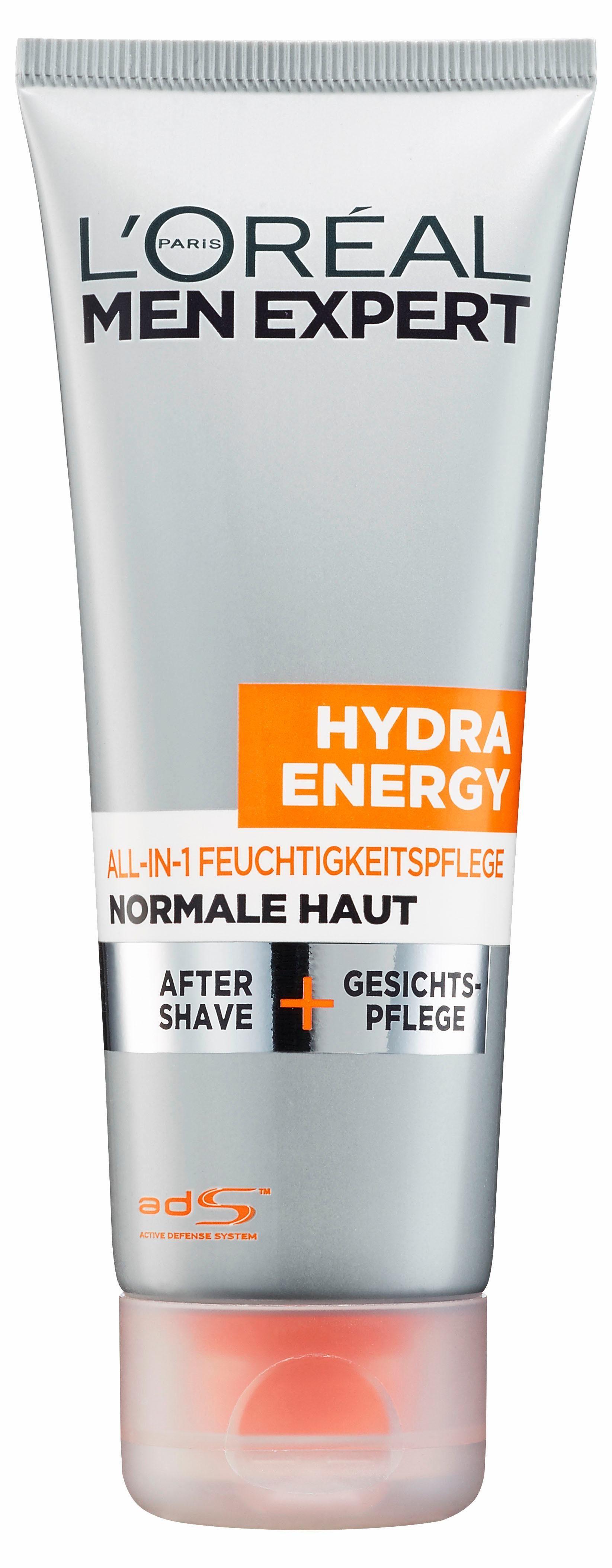 L'Oréal Paris Men Expert, »Hydra Energy All-in-1 Feuchtigkeitspflege«, After Shave + Gesichtspflege, 75 ml