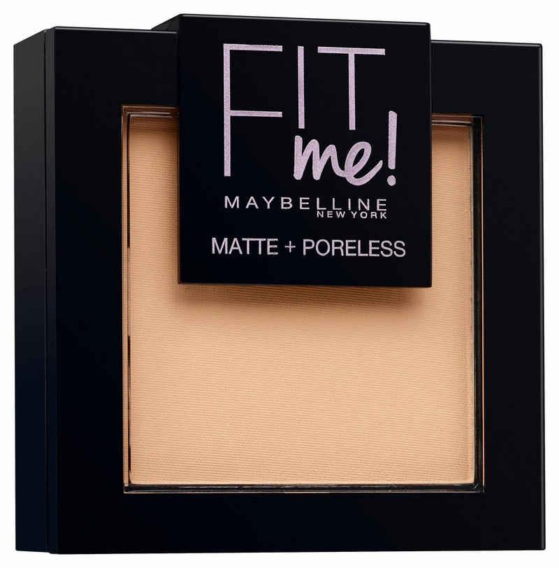 MAYBELLINE NEW YORK Puder »FIT ME«, matte + poreless