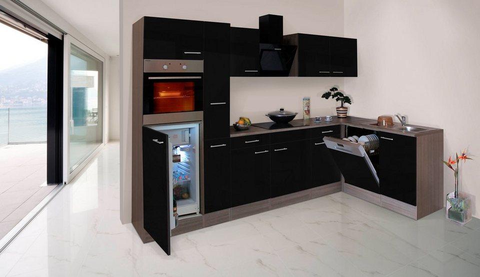 respekta k chenzeile mit e ger ten york winkelk che breite 310x172cm online kaufen otto. Black Bedroom Furniture Sets. Home Design Ideas