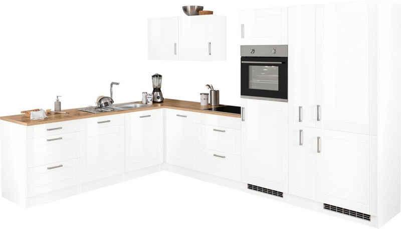 HELD MÖBEL Winkelküche »Tinnum«, ohne E-Geräte, Stellbreite 240/330 cm