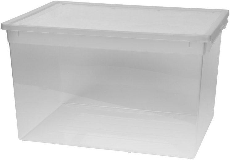 Kreher aufbewahrungsbox 48 liter mit deckel otto for Box mit deckel 30x30x30