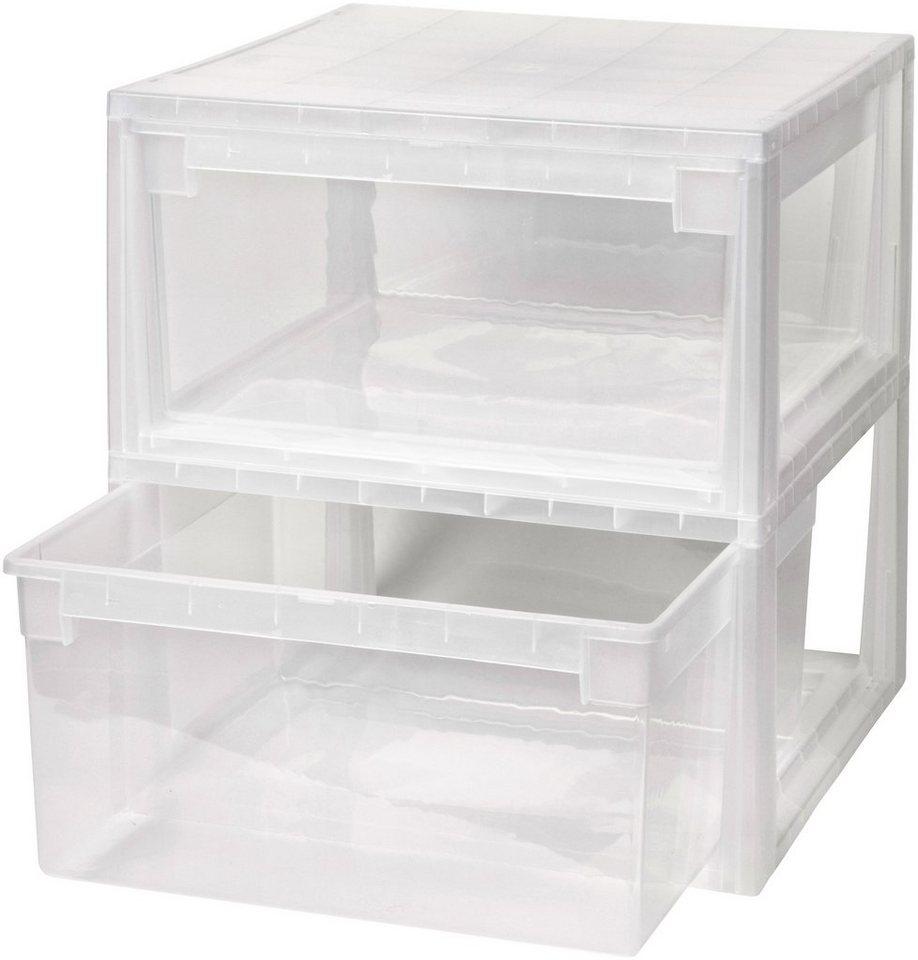 schubladenbox kunststoff machen sie den preisvergleich. Black Bedroom Furniture Sets. Home Design Ideas
