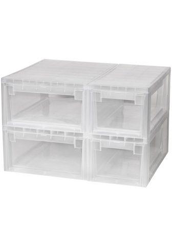 KREHER Ящик для хранения »2x 7 Liter 2x...