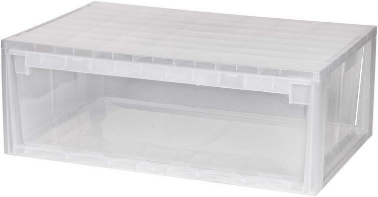 kreher aufbewahrungsbox 36 liter mit schublade otto. Black Bedroom Furniture Sets. Home Design Ideas