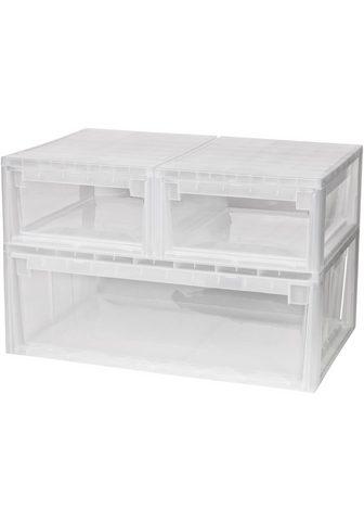 KREHER Ящик для хранения »2x 12 Liter 1...