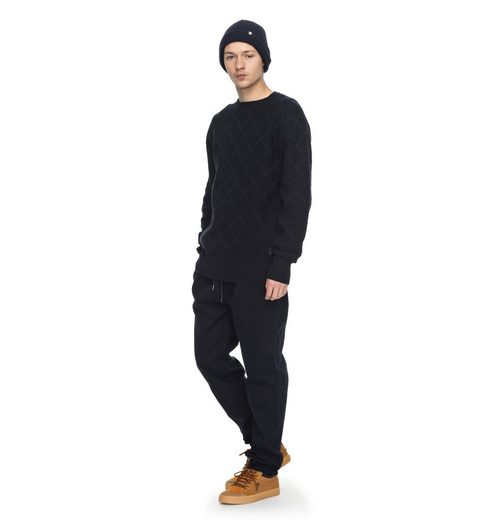 DC Shoes Diamant-Strick-Pullover Solidify