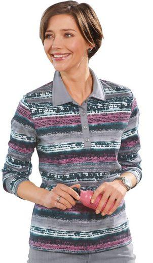 Collection L. Poloshirt aus wärmendem Jersey