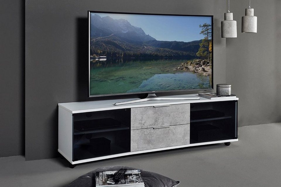 jahnke curve tv 160 lowboard breite 159 cm otto. Black Bedroom Furniture Sets. Home Design Ideas