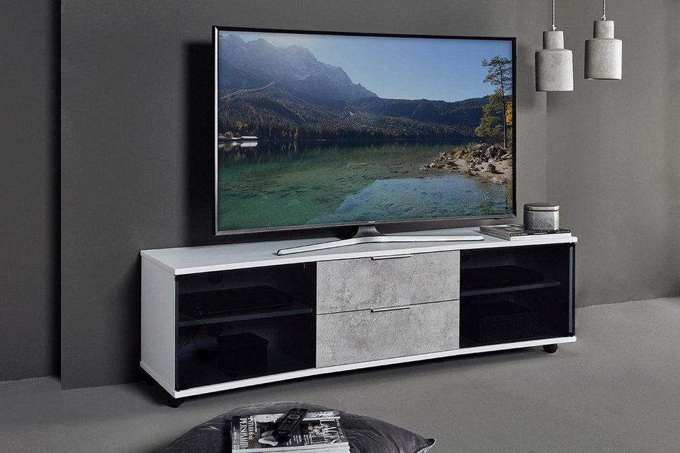 jahnke curve tv 160 lowboard breite 159 cm otto. Black Bedroom Furniture Sets. Home Design Ideas