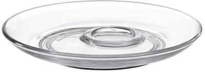 LEONARDO Untertasse »SENSO«, Glas, Ø 14 cm