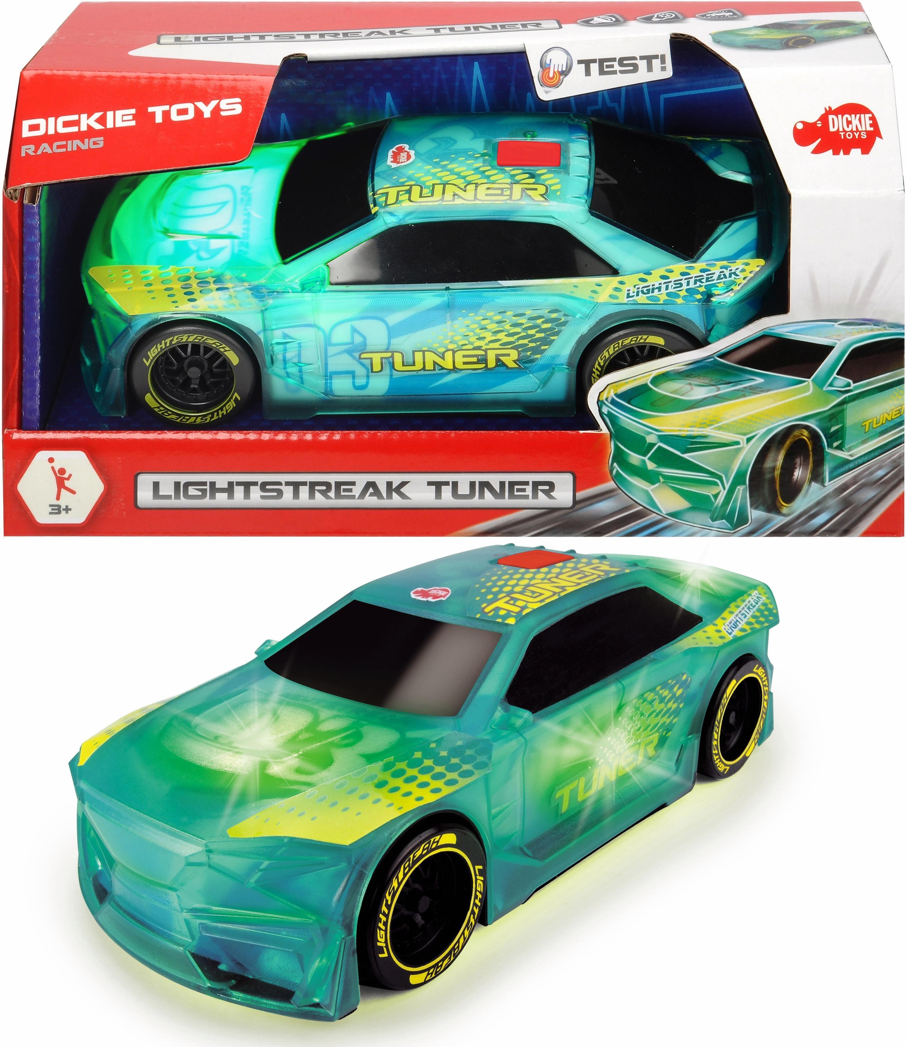 Dickie Toys Spielzeugauto mit Licht und Sound, »Lightstreak Tuner«
