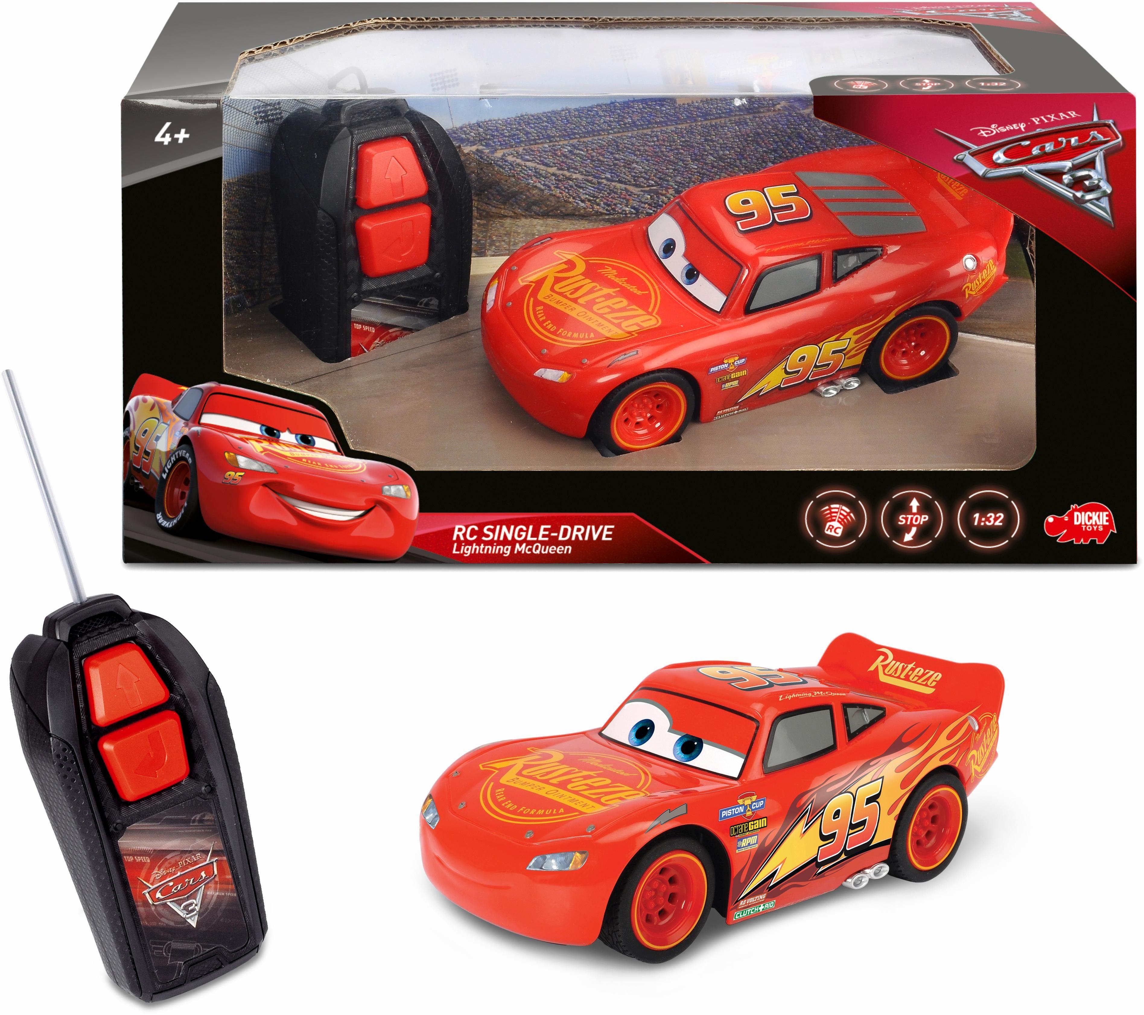 Dickie Toys RC Auto, »Disney Pixar Cars 3 Lightning McQueen Single Drive«