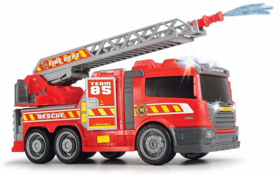 dickie toys spielzeug feuerwehr fire fighter feuerwehrauto mit wasserspritze