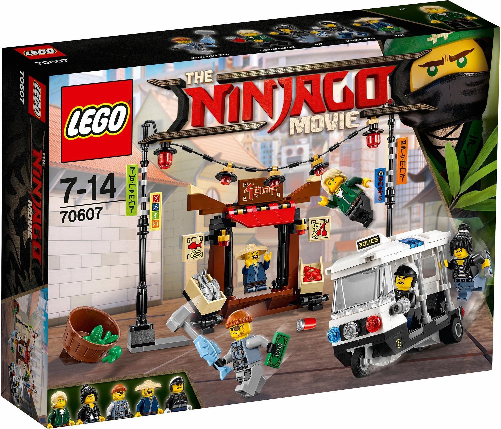 LEGO® Verfolgungsjagd in NINJAGO®City (70607), »LEGO® NINJAGO™«