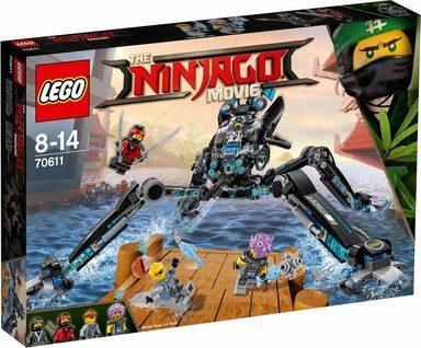 LEGO® Konstruktionsspielsteine »Nya's Wasser-Walker (70611), LEGO® NINJAGO®«, (494 St)