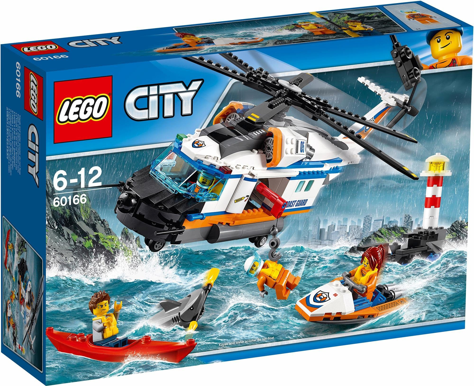 LEGO® Seenot-Rettungshubschrauber (60166), »LEGO® City«