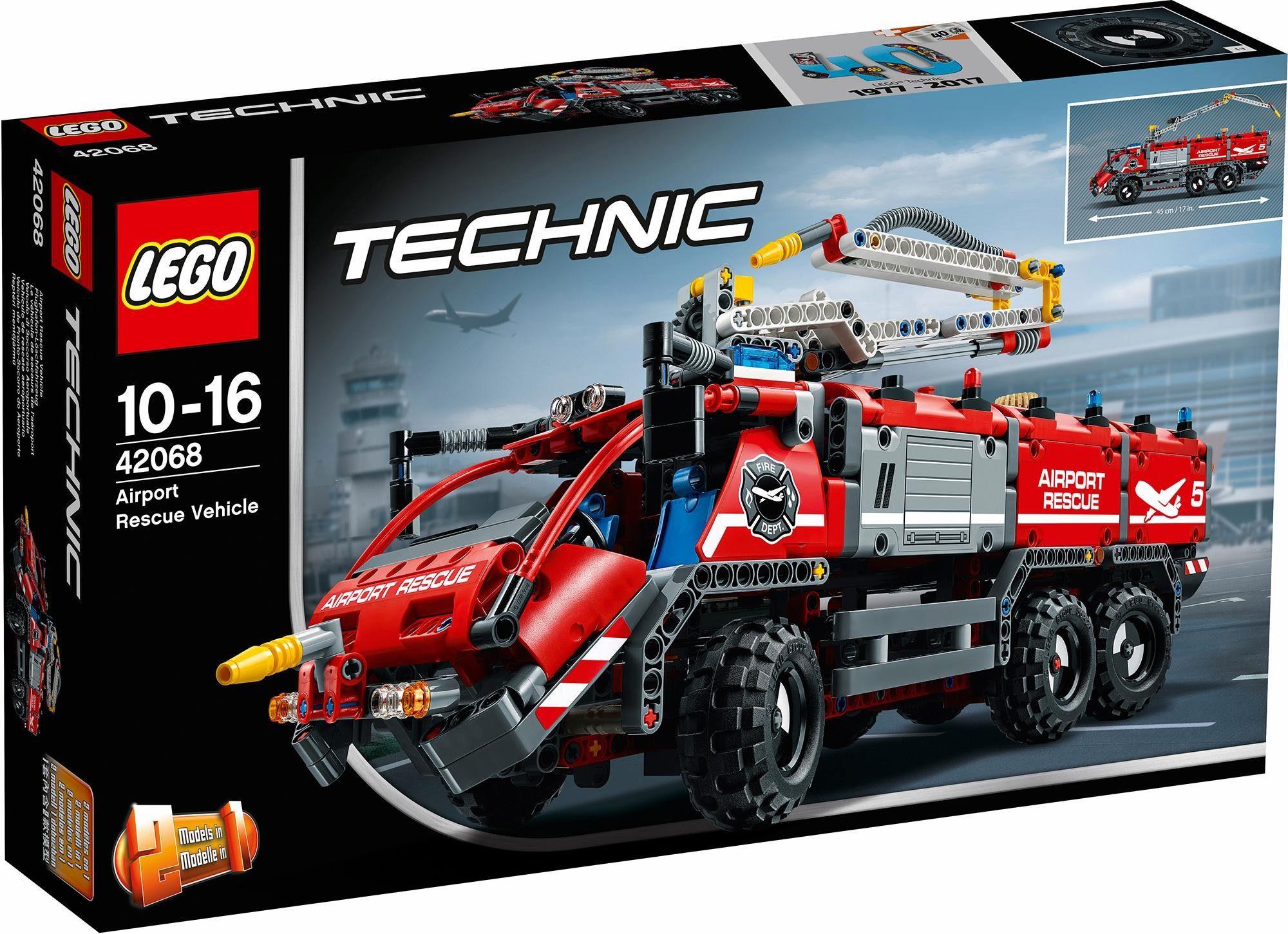 LEGO® Flughafen-Löschfahrzeug (42068), »LEGO® Technic«
