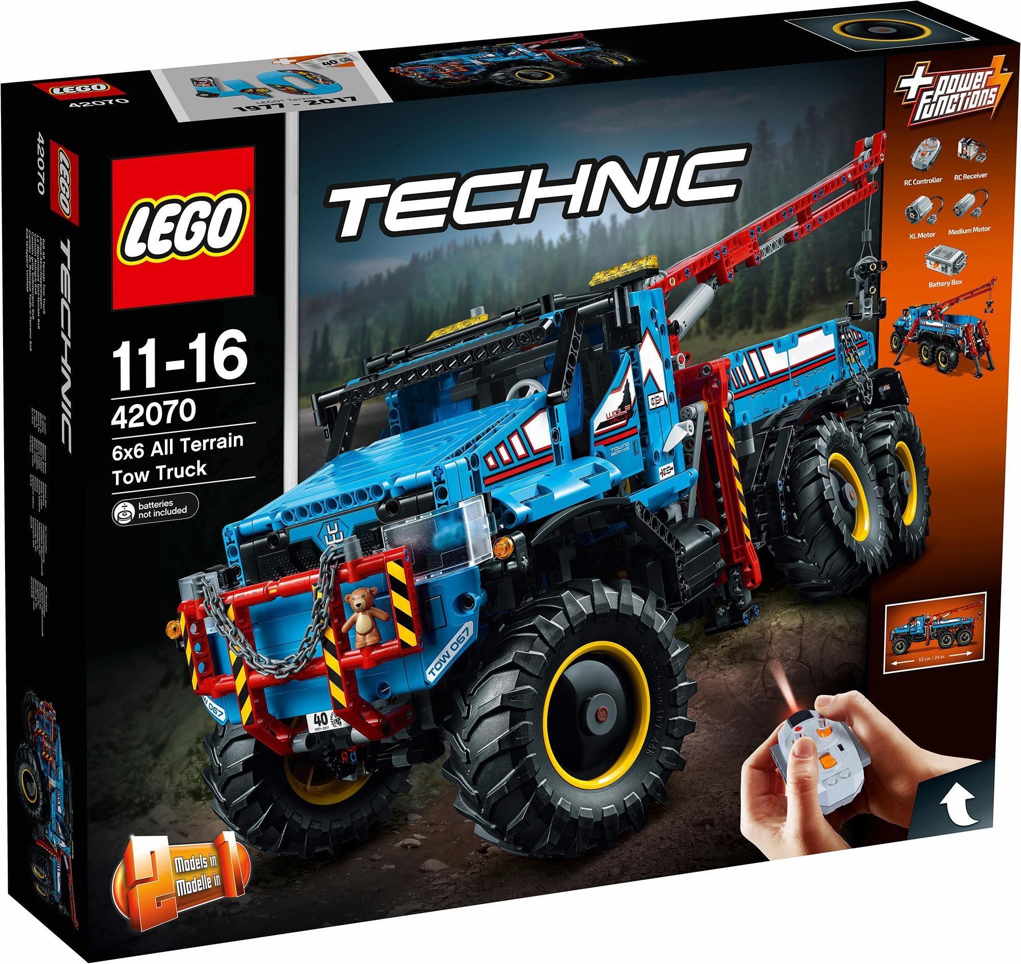 LEGO® Allrad-Abschleppwagen (42070), »LEGO® Technic«